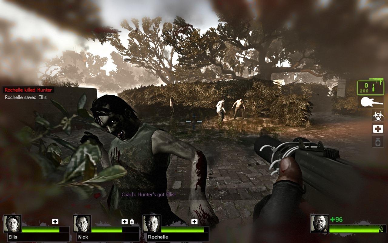 حصريا لعبة الاكشن والعصابات والرعب تورنيت صاروخي Left 4 Dead 2